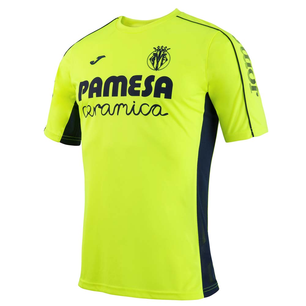 Joma T Shirt Training Villareal