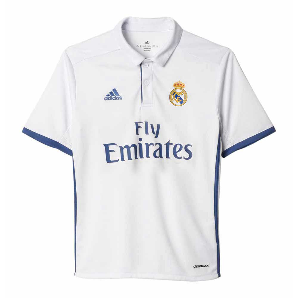 adidas Real Madrid Home Jersey UCL Junior