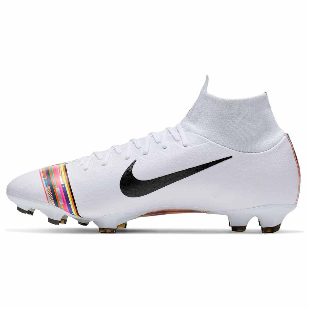 Football Boots Blue Nike Fire and Ice Mercurial Superfly FG
